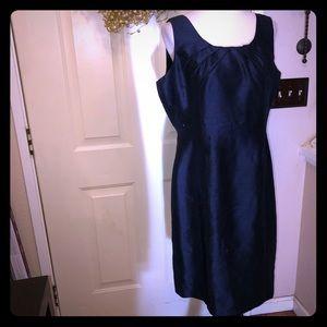Preston & York Navy Blue Chic Midi Dress